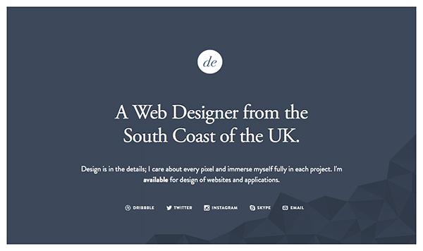 طراحی وب سایت و فضای سفید ان