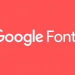 فونت های گوگل