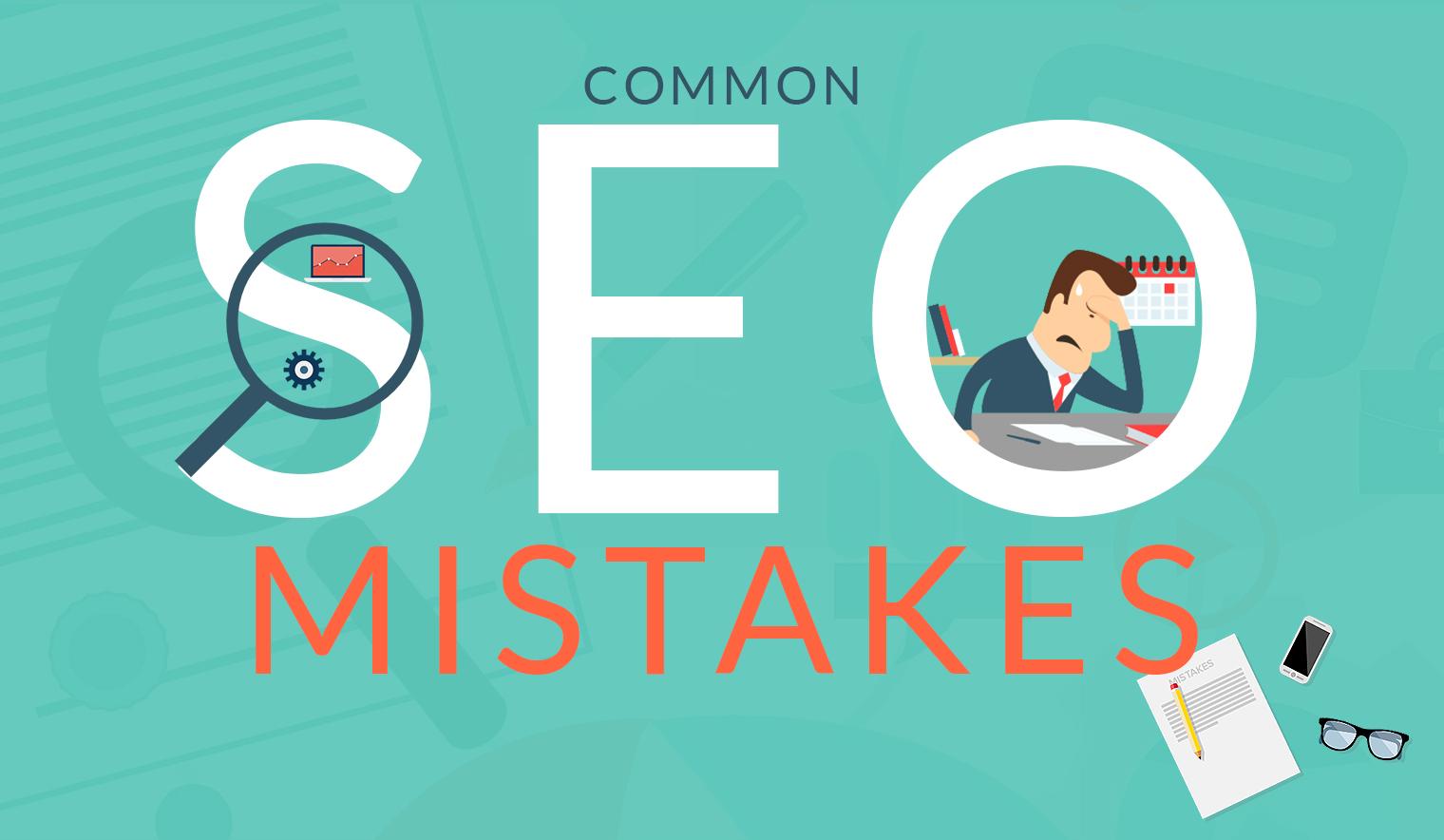 seo common mistake