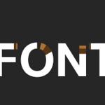 انتخاب فونت در طراحی سایت